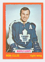 1973-74 Topps Hockey Ron Ellis Toronto Maple Leafs Near-Mint Plus