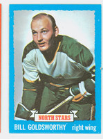 1973-74 Topps Hockey Bill Goldsworthy Minnesota North Stars Near-Mint