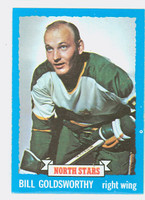 1973-74 Topps Hockey Bill Goldsworthy Minnesota North Stars Near-Mint Plus