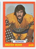 1973-74 Topps Hockey Rogatien Vachon Los Angeles Kings Near-Mint Plus