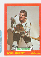 1973-74 Topps Hockey Doug Jarrett Chicago Black Hawks Near-Mint Plus