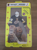 1975 Stand Up Hockey Gerry Cheevers Boston Bruins Near-Mint to Mint