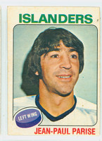 1975-76 OPC NHL Hockey Jean-Paul Parise New York Islanders Excellent to Mint