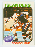 1975-76 OPC NHL Hockey Bob Bourne ROOKIE New York Islanders Excellent to Mint