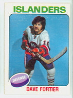 1975-76 OPC NHL Hockey Dave Fortier New York Islanders Excellent to Mint