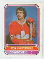 1975-76 OPC WHA Hockey Ron Chipperfield Calgary Cowboys Excellent to Excellent Plus