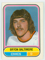 1975-76 OPC WHA Hockey Bryon Baltimore Denver Spurs Near-Mint