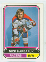 1975-76 OPC WHA Hockey Nick Harbaruk Indianapolis Racers Excellent to Excellent Plus