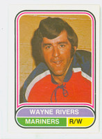 1975-76 OPC WHA Hockey Wayne Rivers San Diego Mariners Near-Mint