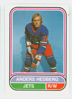 1975-76 OPC WHA Hockey Anders Hedberg Winnepeg Jets Near-Mint
