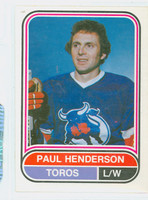 1975-76 OPC WHA Hockey Paul Henderson Toronto Toros Near-Mint