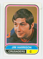 1975-76 OPC WHA Hockey Jim Harrison Cleveland Crusaders Near-Mint Plus