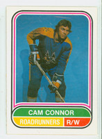 1975-76 OPC WHA Hockey Cam Connor ROOKIE Pheonix Road Runners Near-Mint Plus
