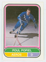 1975-76 OPC WHA Hockey Poul Popiel Houston Aeros Near-Mint Plus