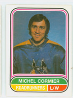 1975-76 OPC WHA Hockey Michel Cormier Pheonix Road Runners Near-Mint