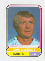 1975-76 OPC WHA Hockey John McKenzie Minnesota Saints Near-Mint