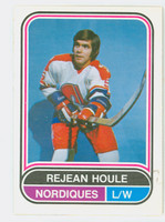 1975-76 OPC WHA Hockey Rejean Houle Quebec Nordiques Near-Mint Plus