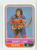 1975-76 OPC WHA Hockey Barry Long Edmonton Oilers Near-Mint