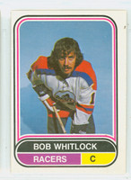 1975-76 OPC WHA Hockey Bob Whitlock Indianapolis Racers Excellent to Mint