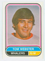 1975-76 OPC WHA Hockey Tom Webster New England Whalers Near-Mint