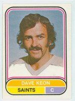 1975-76 OPC WHA Hockey Dave Keon Minnesota Saints Near-Mint