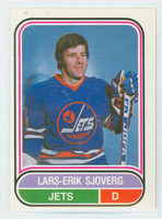 1975-76 OPC WHA Hockey Lars-Erik Sjoverg Winnepeg Jets Excellent to Mint