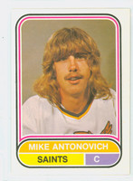 1975-76 OPC WHA Hockey Mike Antonovich Minnesota Saints Near-Mint