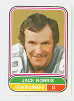 1975-76 OPC WHA Hockey Jack Norris Pheonix Road Runners Near-Mint Plus