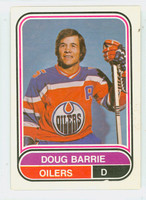 1975-76 OPC WHA Hockey Doug Barrie Edmonton Oilers Near-Mint Plus