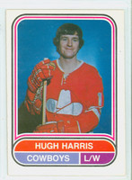1975-76 OPC WHA Hockey Hugh Harris Calgary Cowboys Near-Mint