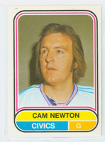 1975-76 OPC WHA Hockey Cam Newton Denver Spurs Near-Mint