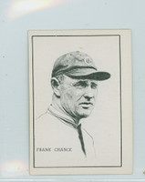 1950 Callahan HOF Frank Chance Chicago Cubs Excellent to Mint