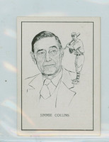 1950 Callahan HOF Jimmie Collins Boston Red Sox Near-Mint to Mint