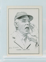 1950 Callahan HOF Clark Griffith Washington Senators Near-Mint