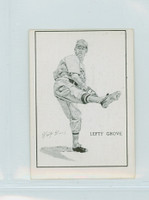 1950 Callahan HOF Lefty Grove Boston Red Sox Excellent