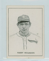 1950 Callahan HOF Harry Heilmann COMP BOX  Detroit Tigers Near-Mint to Mint