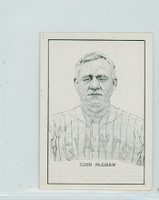 1950 Callahan HOF John McGraw New York Giants Near-Mint