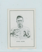 1950 Callahan HOF Eddie Plank Philadelphia Athletics Near-Mint