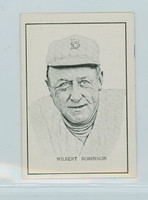 1950 Callahan HOF Wilbert Robinson Brooklyn Dodgers Near-Mint