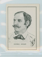 1950 Callahan HOF George Wright Near-Mint