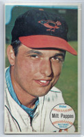 1964 Topps Giants 5 Milt Pappas Baltimore Orioles Excellent