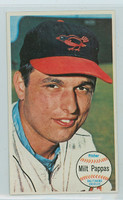 1964 Topps Giants 5 Milt Pappas Baltimore Orioles Near-Mint
