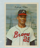 1967 Dexter Press 39 Felipe Alou Atlanta Braves Excellent to Mint