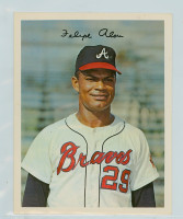 1967 Dexter Press 39 Felipe Alou Atlanta Braves Near-Mint
