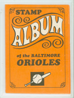 1969 Topps Stamp Books 2 Baltimore Orioles Excellent