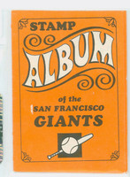 1969 Topps Stamp Books 21 San Francisco Giants Very Good to Excellent