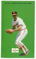 1973 Johnny Pro Orioles 21 Larry Brown Baltimore Orioles Near-Mint to Mint
