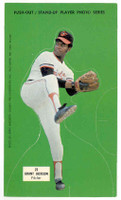 1973 Johnny Pro Orioles 23 Grant Jackson Baltimore Orioles Near-Mint to Mint