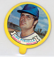 1973 Topps Candy Lids 40 Lou Piniella Kansas City Royals Near-Mint to Mint