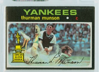 1971 Topps Baseball 5 Thurman Munson New York Yankees Excellent